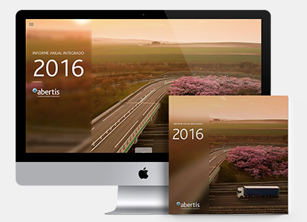 Abertis Annual Integrated Website and Report
