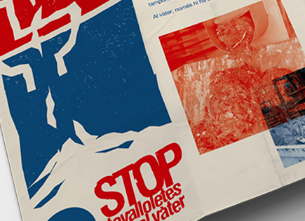 """Stop throwing wipes down the toilet"" campaign"