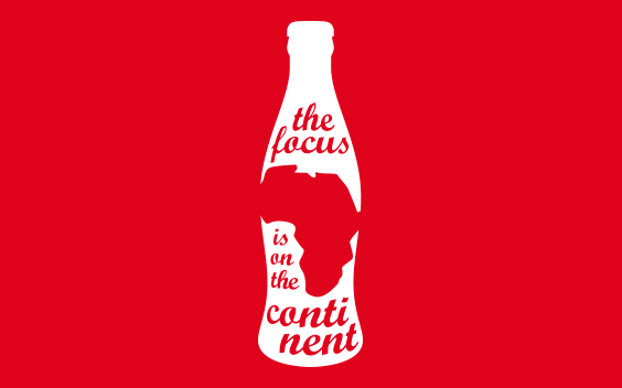Equatorial Coca-Cola Bottling Company logo and event